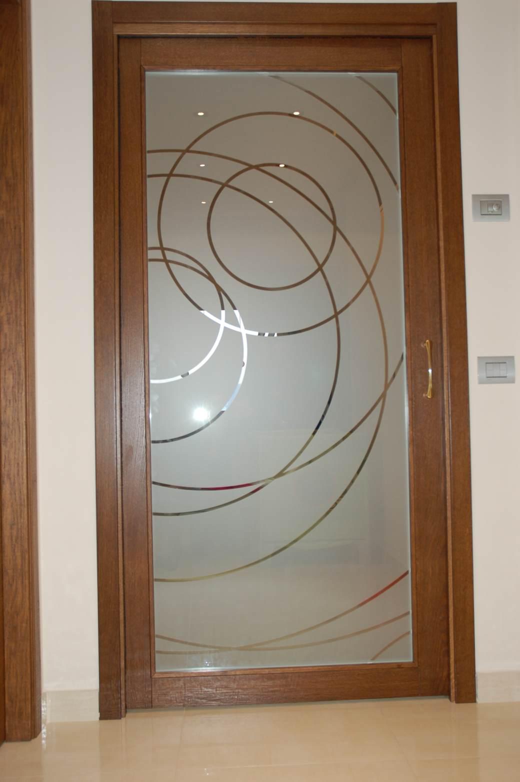 Porte scorrevoli interne in vetro sogno immagine spaziale - Porte scorrevoli in vetro ...
