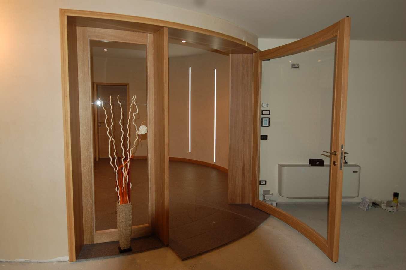 La falegnameria rampini porte interne - Porta scorrevole curva ...